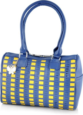 Butterflies Women Blue Messenger Bag at flipkart