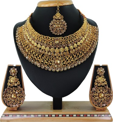 Vatsalya Creation Alloy Jewel Set(Gold, Bronze)