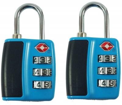 Premsons Digit Lock Pack of 2 - (Blue) Safety Lock(Blue)