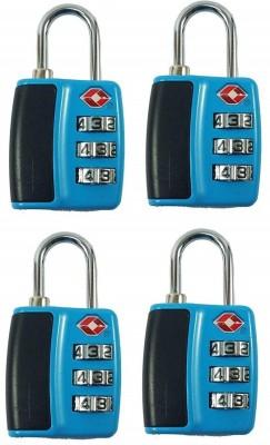 Premsons Number Padlocks Safety Lock(Blue)