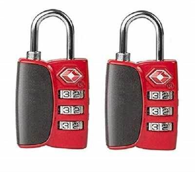 Premsons Travel Suitcase & Baggage - Pack of 2 - (Red) Safety Lock(Red)