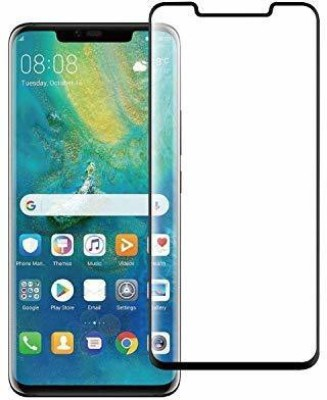 SAVD Edge To Edge Tempered Glass for SAVD- Premium Edge to Edge Covered Tempered Glass Screen Protector 9H Hardness Gorilla Glass Guard for Huawei Honor Mate 20 Pro - Black(Pack of 1)