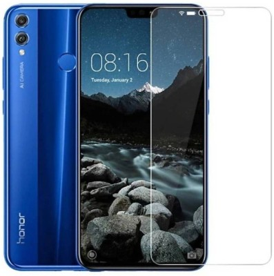 Kmp Power Tempered Glass Guard for Honor 8X(Pack of 1)