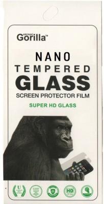 BLACK GORILLA Tempered Glass Guard for MICROMAX YU YUPHORIA AQ5010