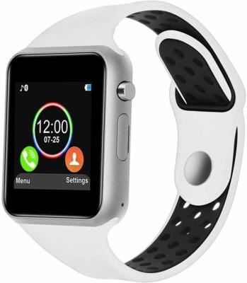 aybor Stylish watch with calling Function Smartwatch(White Strap, FREE SIZE)