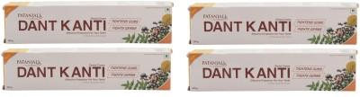 Patanjali Dant Kanti Dental Toothpaste - 200 g (Pack of 4) Toothpaste(200 g, Pack of 4)