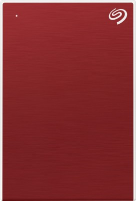 Seagate Backup Plus Portable 4 TB External Hard Disk Drive(Red)