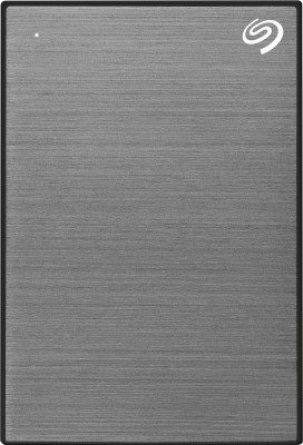 Seagate Backup Plus Slim 1 TB External Hard Disk Drive(Space Grey)