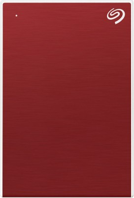 Seagate Backup Plus Slim 1 TB External Hard Disk Drive(Red)