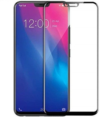 MOBILOVE Edge To Edge Tempered Glass for Vivo Y85 | 11D Edge to Edge Original 2.5D Curve Anti Fingerprint 0.33 mm Tempered Glass Screen Protector(Pack of 1)