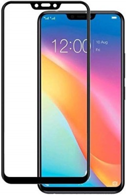 MOBILOVE Edge To Edge Tempered Glass for Vivo Y81 | 11D Edge to Edge Original 2.5D Curve Anti Fingerprint 0.33 mm Tempered Glass Screen Protector(Pack of 1)