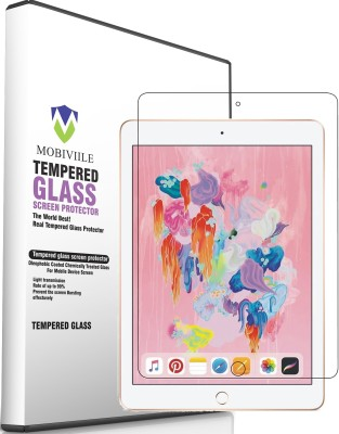 MOBIVIILE Tempered Glass Guard for Apple iPad Air 10.5 inch, Apple iPad Air 10.5 (2019), Apple iPad Air 3(Pack of 1)