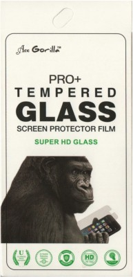 BLACK GORILLA Tempered Glass Guard for Intex Aqua Eco(Pack of 1)