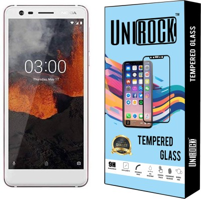 Unirock Tempered Glass Guard for Nokia 3(Pack of 3)