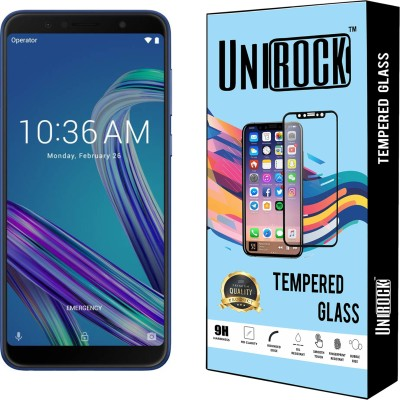 Unirock Tempered Glass Guard for Asus Zenfone Max Pro M1(Pack of 2)