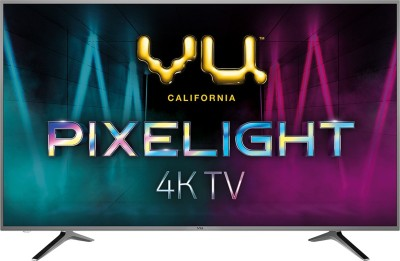 Vu Pixelight 163cm (65 inch) Ultra HD (4K) LED Smart TV(65-QDV) (Vu)  Buy Online