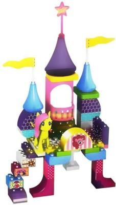 SANYAL Amazing 59 PCS Amusement Theme Park 3D Bricks Blocks Set Multicolor SANYAL Blocks   Building Sets