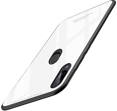 VeilSide Back Cover for Mi Redmi Note 7, Mi Redmi Note 7 Pro, Mi Redmi Note 7S(White Glass, Grip Case)