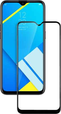 Flipkart SmartBuy Edge To Edge Tempered Glass for Realme C2, Gionee Max, OPPO A1K(Pack of 1)