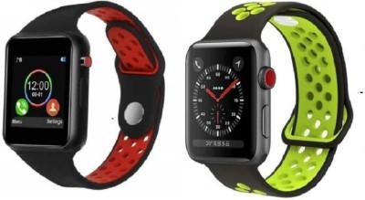 aybor Stylish watch with calling Function Smartwatch(Black Strap, FREE SIZE)