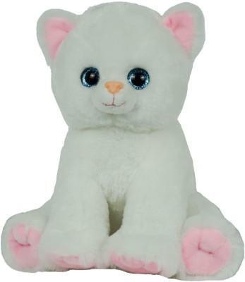 SN Cute Plush White Cat Soft Toy   18 inch White 02 SN Soft Toys