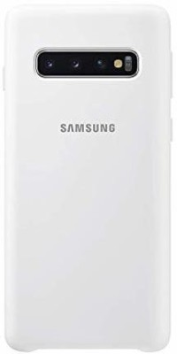 GADGETS WRAP Back Cover for Samsung Galaxy S10(White, Grip Case, Silicon)