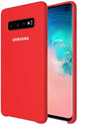 GADGETS WRAP Back Cover for Samsung Galaxy S10 Plus(Red, Grip Case, Silicon)
