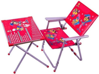 DMTE Plastic Desk Chair(Finish Color - Red)