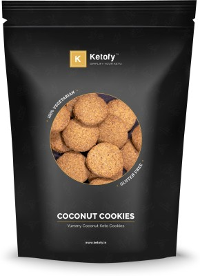 Ketofy Coconut Keto Cookies(500 g) at flipkart