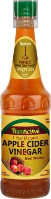 NutrActive Apple Cider Vinegar with Mother of Vinegar for weight loss(500 ml) at flipkart