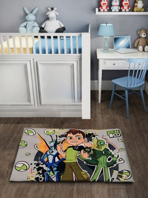 Saral Home Velvet Baby Play Mat(Multicolor, Medium)