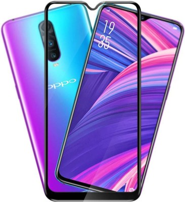 b.bright Edge To Edge Tempered Glass for OPPO R17 (Pack of 1)GGQ(Pack of 1)