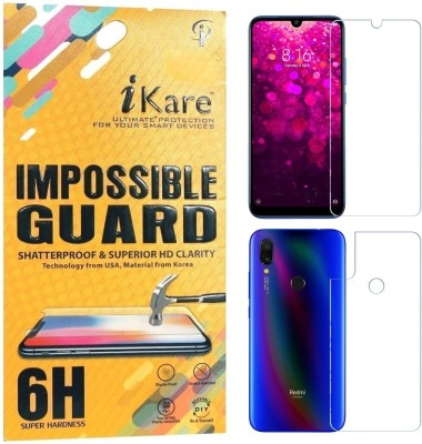 GBKS Tempered Glass Guard for Mi RedMi Note 3(Pack of 1)