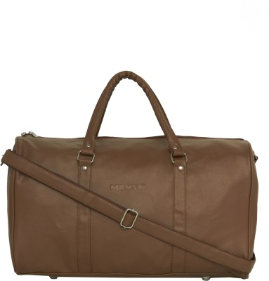 Mboss Retro Travel Duffel Bag Beige