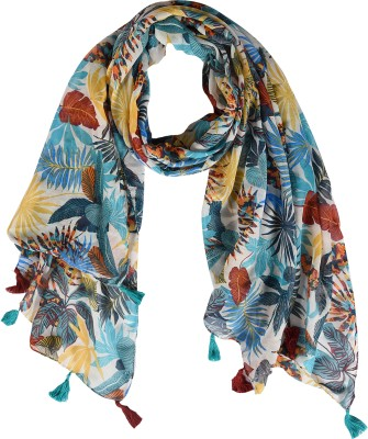 Ziva Fashion Printed Cotton Blend Women Scarf