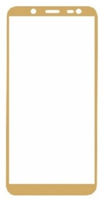 jacure Edge To Edge Tempered Glass for Samsung Galaxy J6 Tempered Glass 5D 3D Curved Full Coverage Anti Glare, Anti Fingerprint, Tempered Glass Screen Protector for Samsung Galaxy J6 JA/SLTG5DGD/1067(Pack of 1)