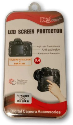 DIGICARE PHOTO Screen Guard for Canon 200D(Pack of 1)