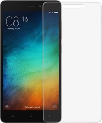 km ppower Tempered Glass Guard for redmi 3s prime (glass)(Pack of 1)