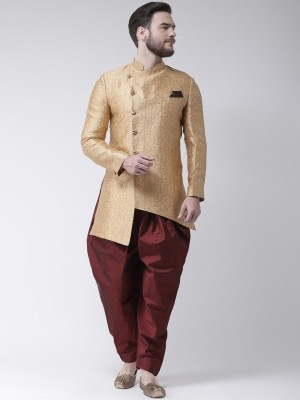 Hangup Self Design Sherwani at flipkart