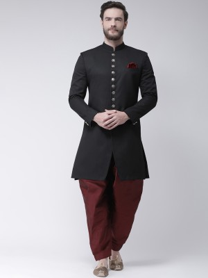 Hangup Solid Sherwani at flipkart