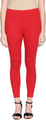 Rangmanch by Pantaloons Ankle Length  Ethnic Wear Legging(Red, Solid)