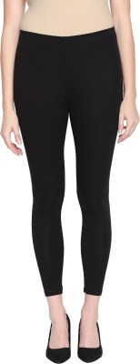 Rangmanch by Pantaloons Ankle Length  Ethnic Wear Legging(Black, Solid)