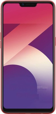 OPPO A3s (Red, 64 GB)(4 GB RAM)  Mobile (Oppo)