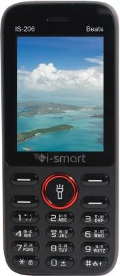 Ismart IS 206 Beats Black Red Ismart Mobiles