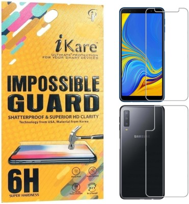iKare Front and Back Screen Guard for Samsung Galaxy A7 2018 Edition(Pack of 2)