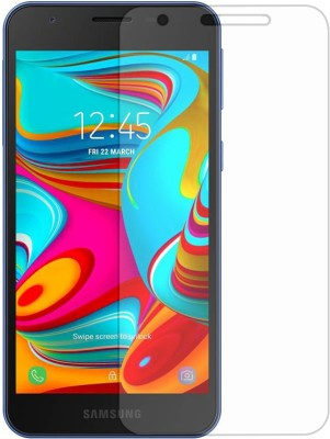 BlackBug Tempered Glass Guard for Samsung Galaxy A2 Core Screen Protector,Screen Guard,(Clear HD) 0.3mm, 2.5D(Pack of 1)