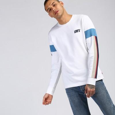 Levi's Full Sleeve Printed Men Sweatshirt at flipkart