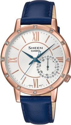 CASIO SX253 Sheen   SHE 3046GLP 7CUDF   Analog Watch   For Women CASIO Wrist Watches