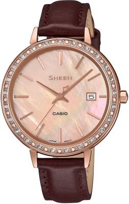 Casio SX244 Sheen Analog Watch  – For Women