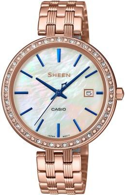 Casio SX242 Sheen Analog Watch  – For Women